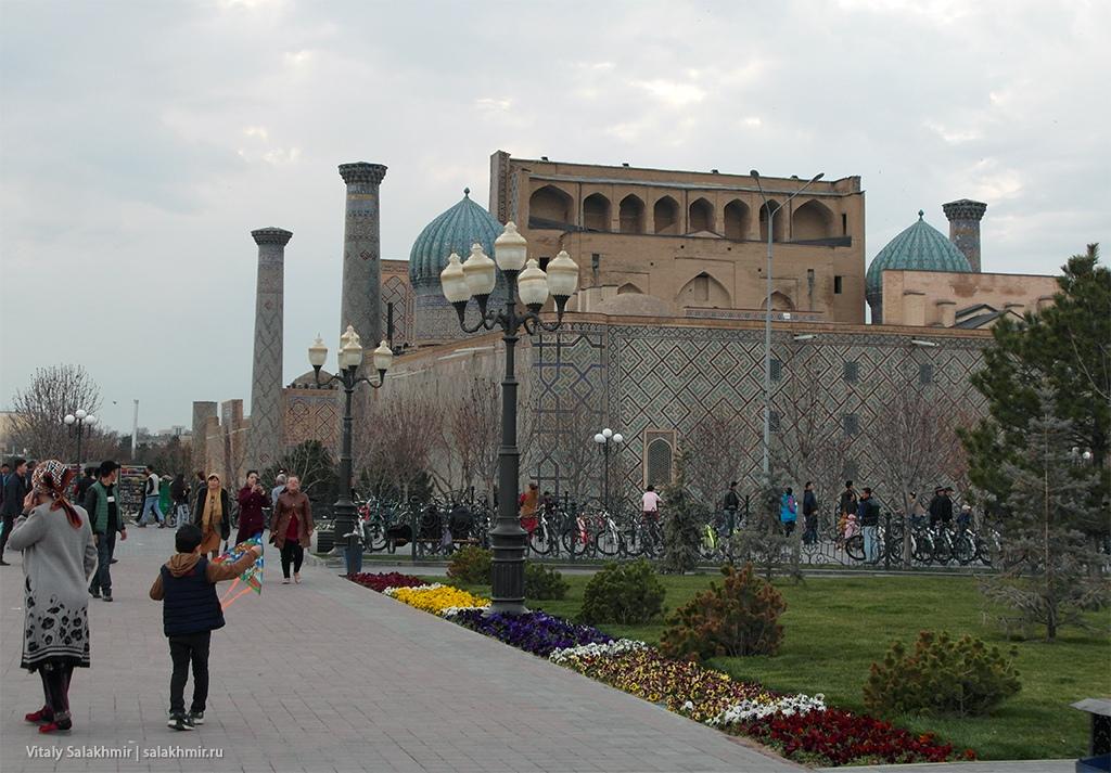Атмосфера – Арбат в Самарканде, Узбекистан 2019