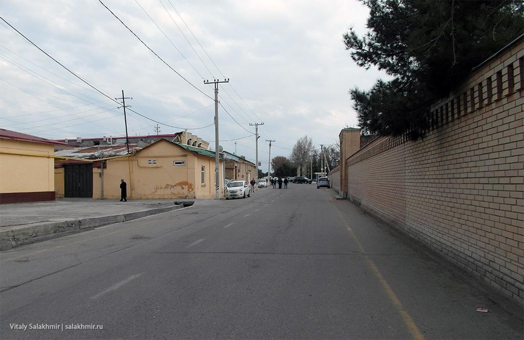 Жилой район старого города Самарканд, Узбекистан 2019