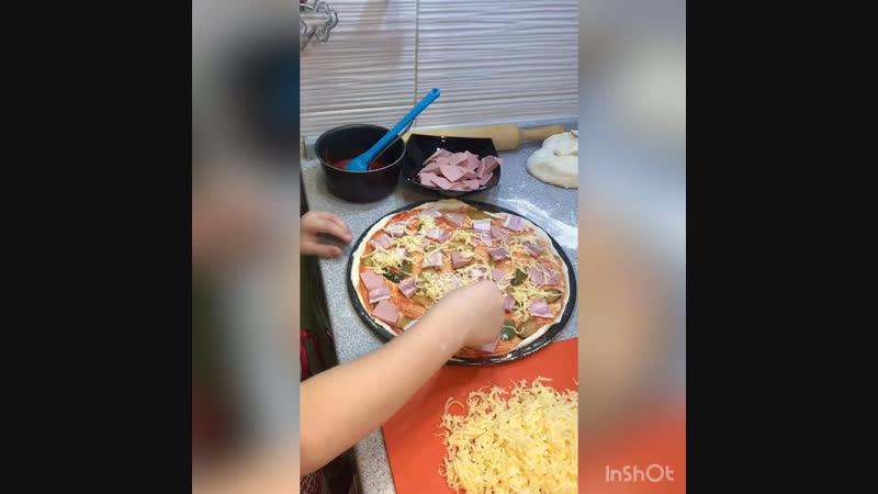Пицца для тети Светы