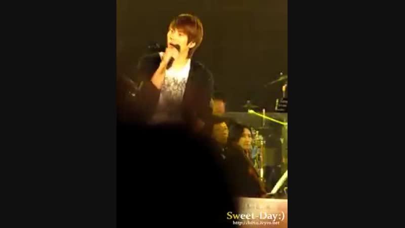 [fancam] 101019 SHINee jonghyun - lucifer @ Open Concert