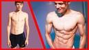 Моя трансформация за 4 года 15-19 лет Daniel Vegas 4 Year Natural Transformation 15-19