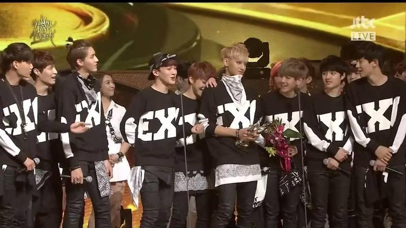 HD 140116 EXO Daesang Awards Encore @ 28th Golden Disk Awards