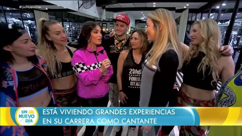 """Lali Espósito nos cuenta sobre su nuevo éxito _""""Caliente_"""" ¦ Un Nuevo Día ¦ Telemundo"""
