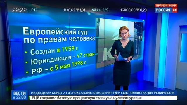 Новости на Россия 24 • Конституционный суд разрешил не платить экс-акционерам ЮКОСа 1,9 млрд евро
