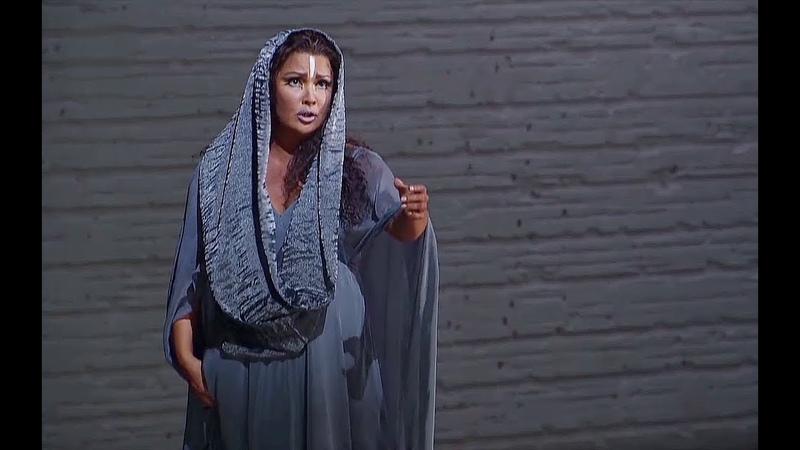 Anna Netrebko✮♫ O patria mia, mai più ti rivedrò!aus Aida von G.Verdi