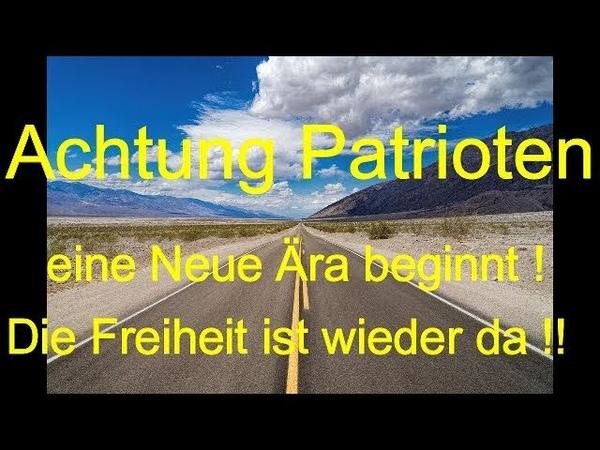Tim K Patriot Eilmeldung Neue Ära Neue Freiheit für ALLE
