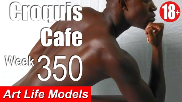 Croquis Cafe Figure Drawing Resource No. 350