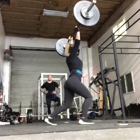 "Paige VanZant on Instagram Strength training today 🐻 GRRRR """