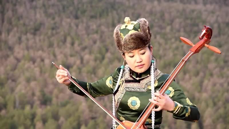 "Traditional Mongolian Music ""Three Beautiful Chestnut Mares"""