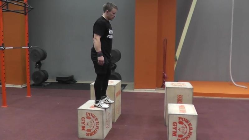 [Академия Тяжелой Атлетики (Academy Weightlifting)] Прыжки в глубину (Diving depth)или спрыгивания с возвышения.