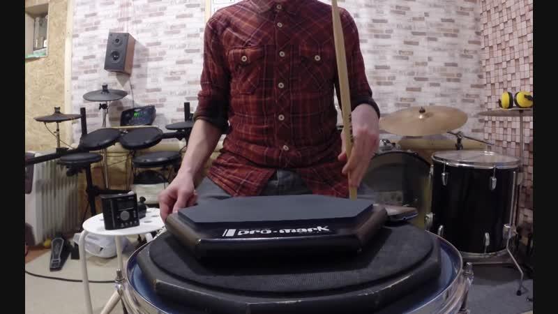 Суперкомплекс WarmUp для Барабанщика 1 уровень Базовая техника рук