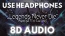 Legends Never Die 8D AUDIO LoL Worlds 2017 8D Unity