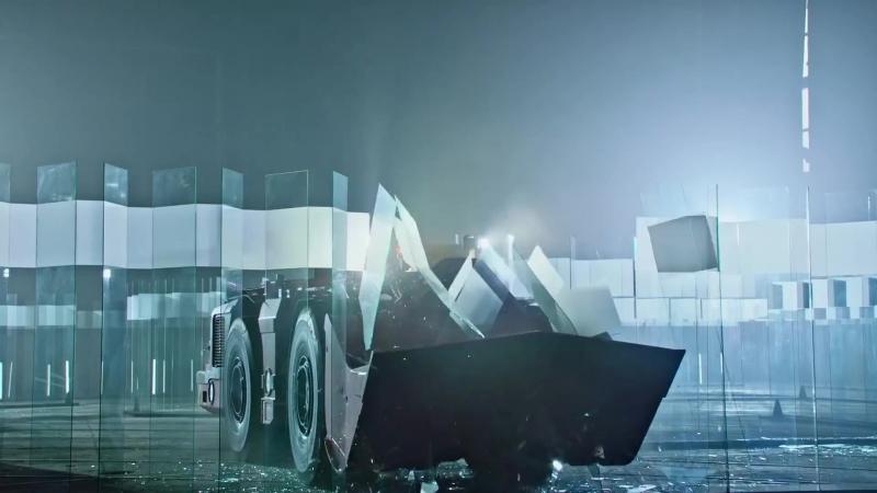 Безпилотный 38-тонный тяжелый погрузчик от Sandvik