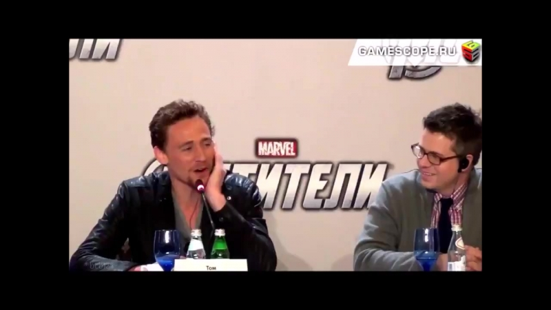 TH Oh, thats soo hard... whos the coolest avenger-- CH Your brother...
