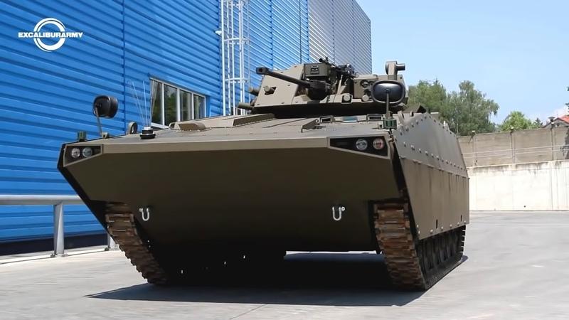 Excalibur Army Czech Slovak BVP M2 SKCZ Sakal Infantry Fighting Vehicle 720p