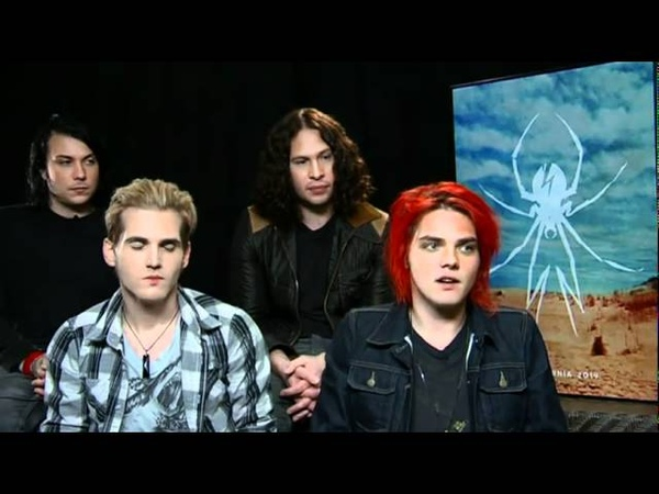 My Chemical Romance - Interview Pt. 3