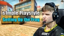 The s1mple Playstyle Setting up the Frags Blast Pro Series