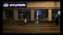 Автосалон HYUNDAI в Корее Обратная проекция