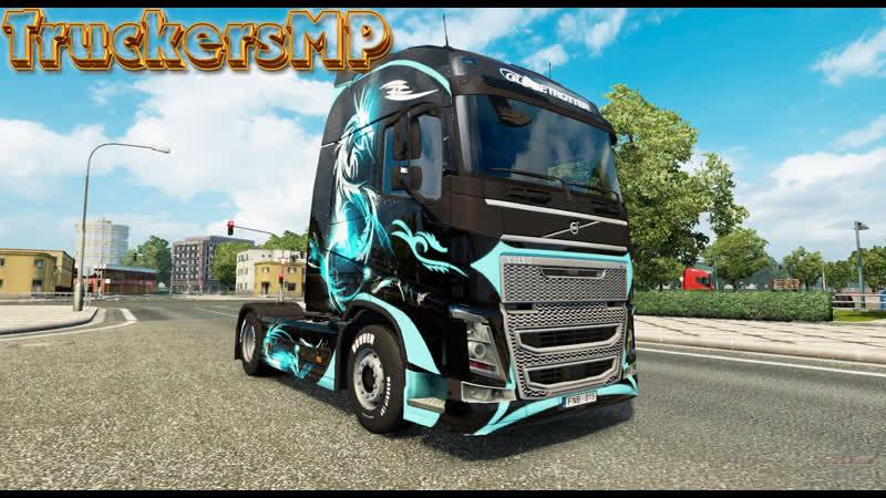 VOLVO ★ ОНЛАЙН TruckersMP ★ Euro Truck Simulator 2