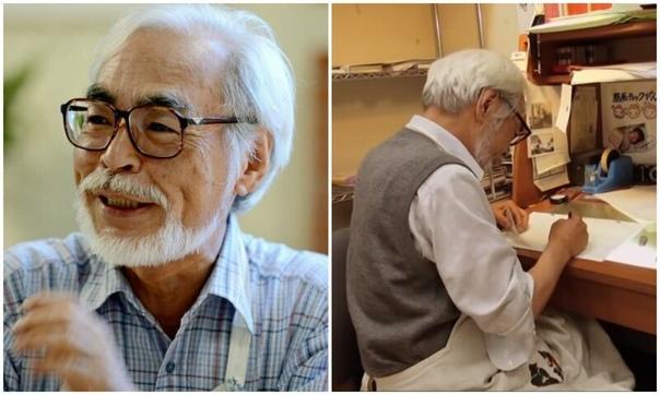 Ждем шедевры! Хаяо Миядзаки и его сын работают над двумя новыми мультфильмами