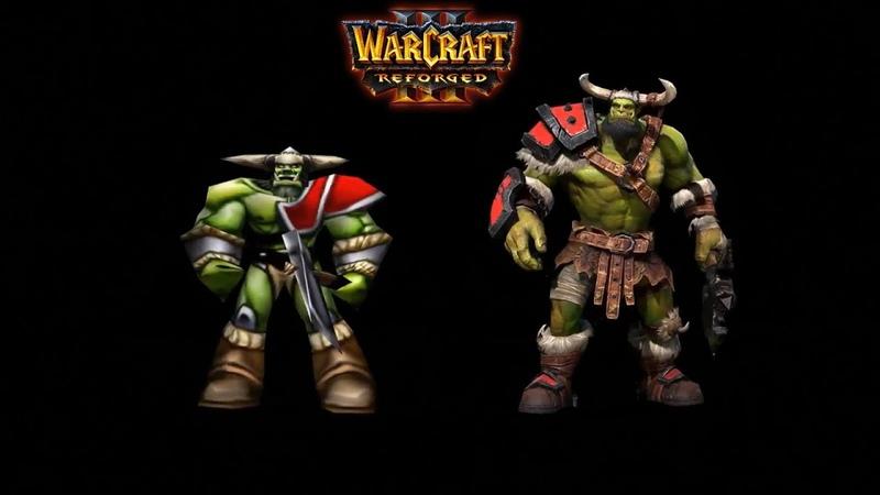 Warcraft 3 Reforged Model Updates - Blizzcon 2018