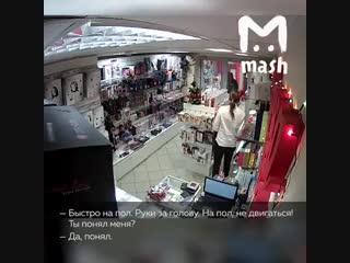В Москве ограбили секс-шоп и у нас есть видео.