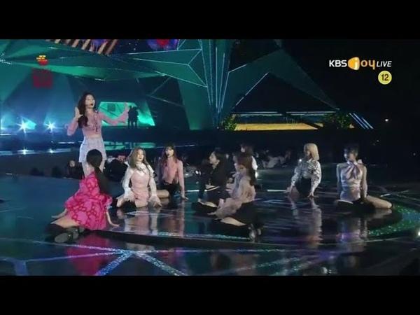 트와이스(TWICE) - YES or YES Dance The Night Away (2019 서울 뮤직어워드, 2019 Seoul Music Awards)