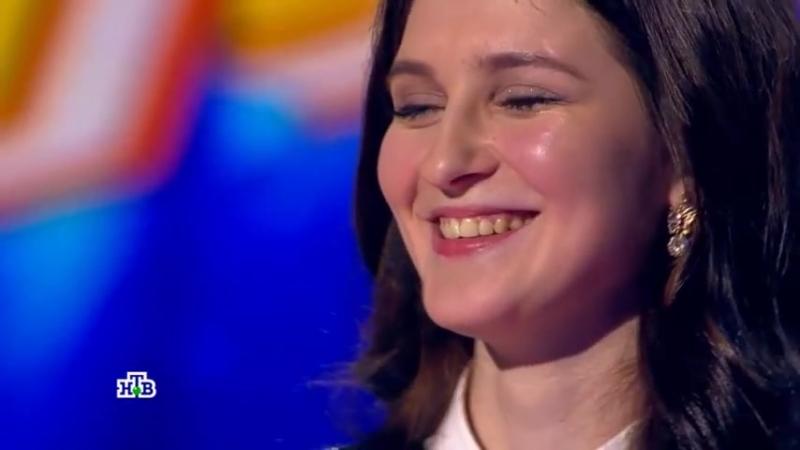 Она запела, и жюри бросилось нажимать кнопки Настя из Мурманской области сразила всех