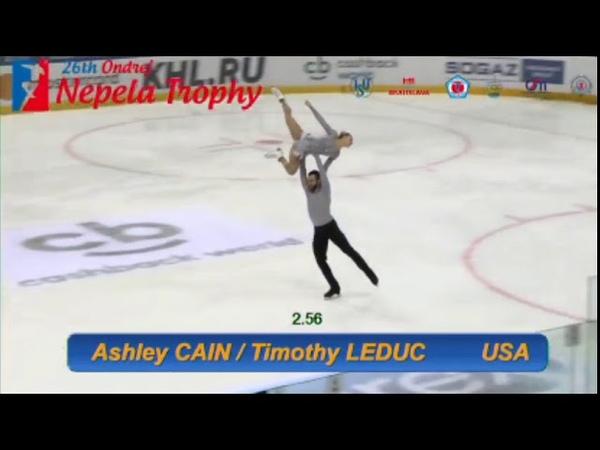 Ashley CAIN / Timothy LEDUC FS 2018 - Ondrej Nepela Trophy