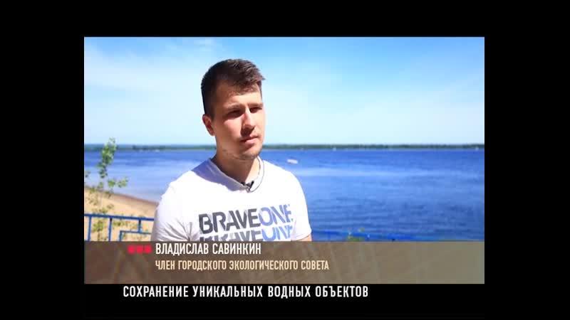 Субботник в п.Гранный. Владислав Савинкин