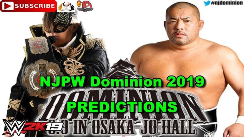 NJPW Dominion 2019 NEVER Openweight Championship – Taichi vs Tomohiro Ishii Predictions WWE 2K19