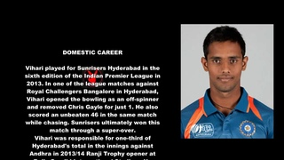 Hanuma Vihari Indian Cricketer Biography With Detail