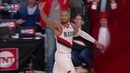 Damian Lillard Waves Goodbye to Russell Westbrook - Game 5 | April 23, 2019