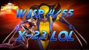 Wasp 4 55 vs Wolverine X 23 Labyrinth of Legends by Legacy Marvel Contest of champions mcoc mbch