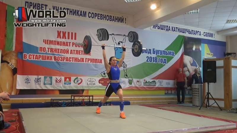 МУХОРТОВА/MUHORTOVA (63,W-50) 45-48R-49R/62R-63R-65R. Russian Championships Masters 2018