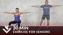 HASfit 30 min Exercise for Seniors Elderly Older People Тренировка для начинающих и пожилых людей