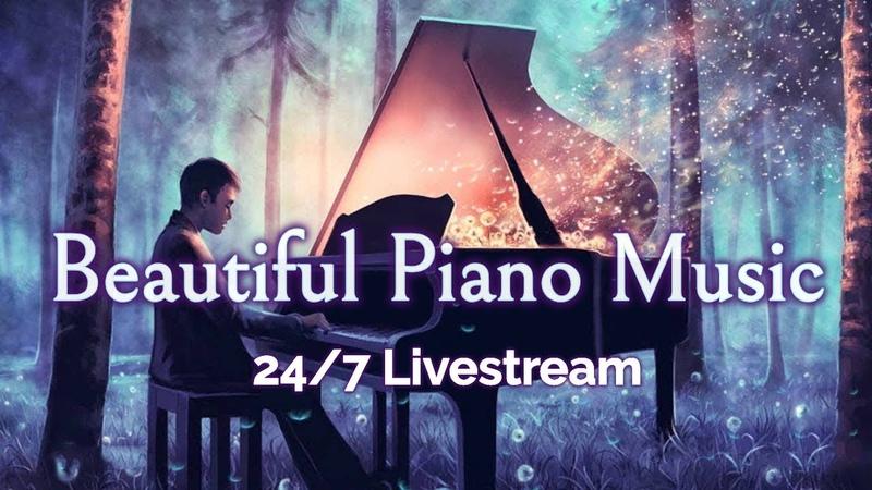 🔴Beautiful Piano Music LIVE 24/7: Instrumental Music