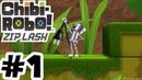 Chibi-Robo! Zip Lash - Gameplay Walkthrough Part 1 - 3DS 60FPS
