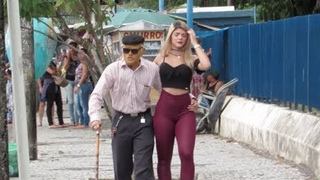 80 Year Old Man With 25 Year Old Girlfriend (Social Experiment)