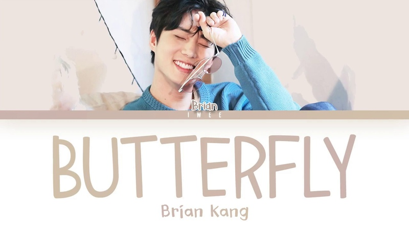 Brian KangYoung K (영케이) - Butterfly (Cover) (Han Rom Eng) Color Coded Lyrics한국어 가사