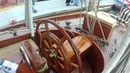 1903 Antique Sailboat Witchcraft 66 feet of Antique Working Wooden Yacht by ABKVideo