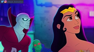 DC Superheros Lion King Parody - Animation By Hayk Manukyan | Warner Brothers Animation