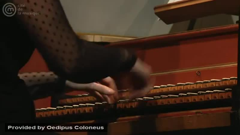 Bach_ Fantasia for harpsichord in G minor, BWV 917 _ Violaine Cochard