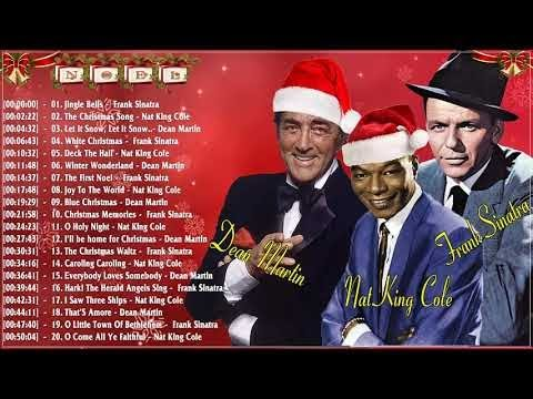 Frank Sinatra, Nat King Cole, Dean Martin Christmas Album 2018 - Best Christmas Songs Collection
