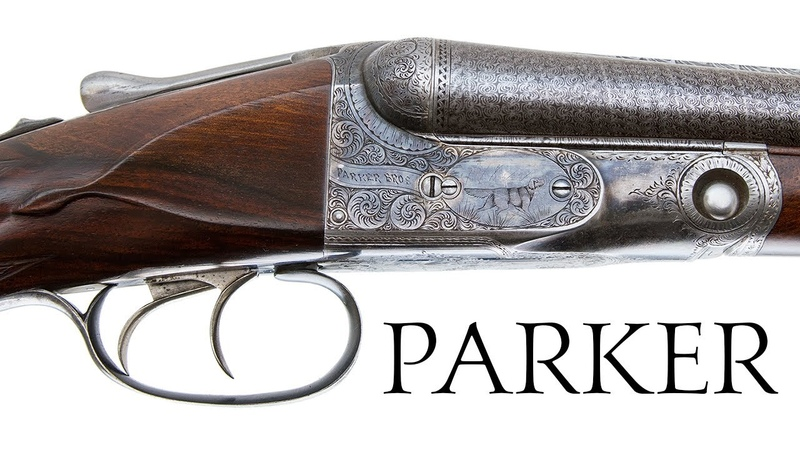 Parker DH Damascus 1 of 8 Made 28 Gauge Side by Side Shotgun