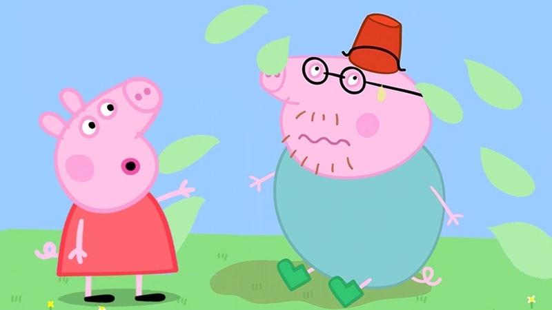 Свинка Пеппа на русском все серии подряд | пузырьки | подбор клипа | Мультики