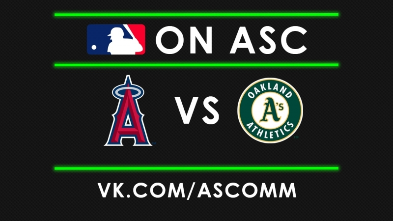 MLB | Angels VS Athletics