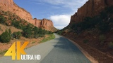 4K (Ultra HD) Scenic Drive in Utah - Burr Trail Road (with Music) - 5.5 HRS