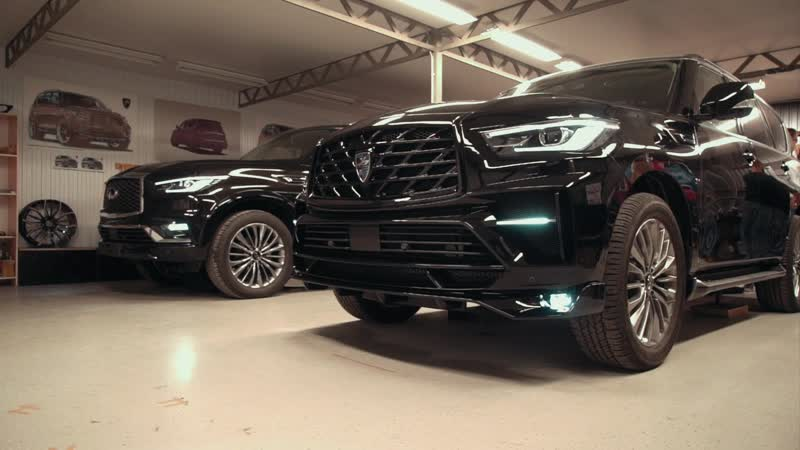 How we made Infiniti QX80 with LR5 tuning kit