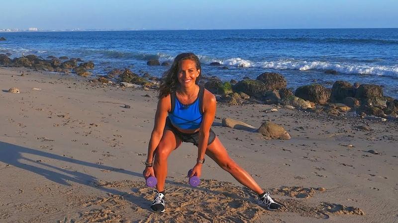 Сожги жир Построй мышцы - Тренировка всего тела с гантелями. Melt Fat Build Muscles - Total Body Dumbbell Workout